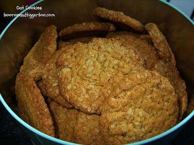 Oat Cookies - Recipe