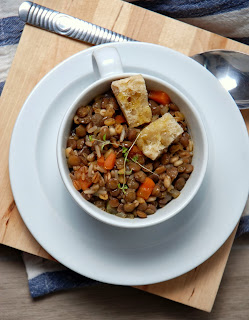 Easy Greek Lentil Soup Recipe