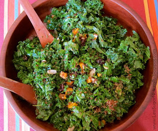 Kale Quinoa Sweet Potato Salad