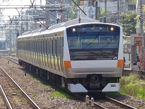 青梅線 拝島行き E233系