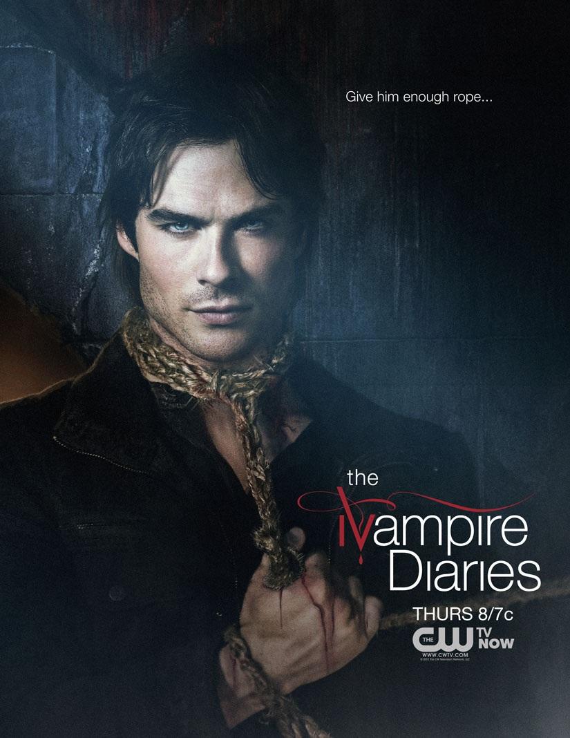 Three amigos the vampire diaries season 4 for Quentin domon