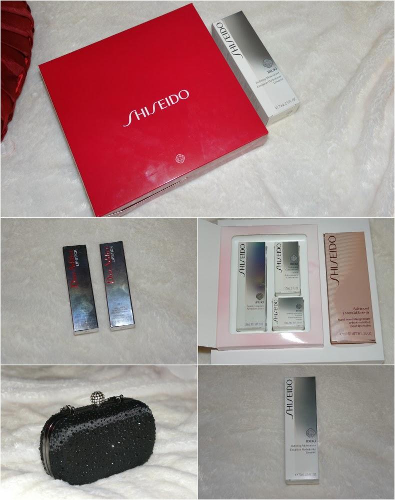 Shiseido IbUKI Skincare, Dior Addict lipstick