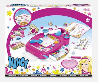 TOYS : JUGUETES - NANCY Diseña tus tarjetas Nancy | Card Studio Design Producto Oficial 2015 | Famosa 700012428 | Manualidades A partir de 4 años | Comprar en Amazon España