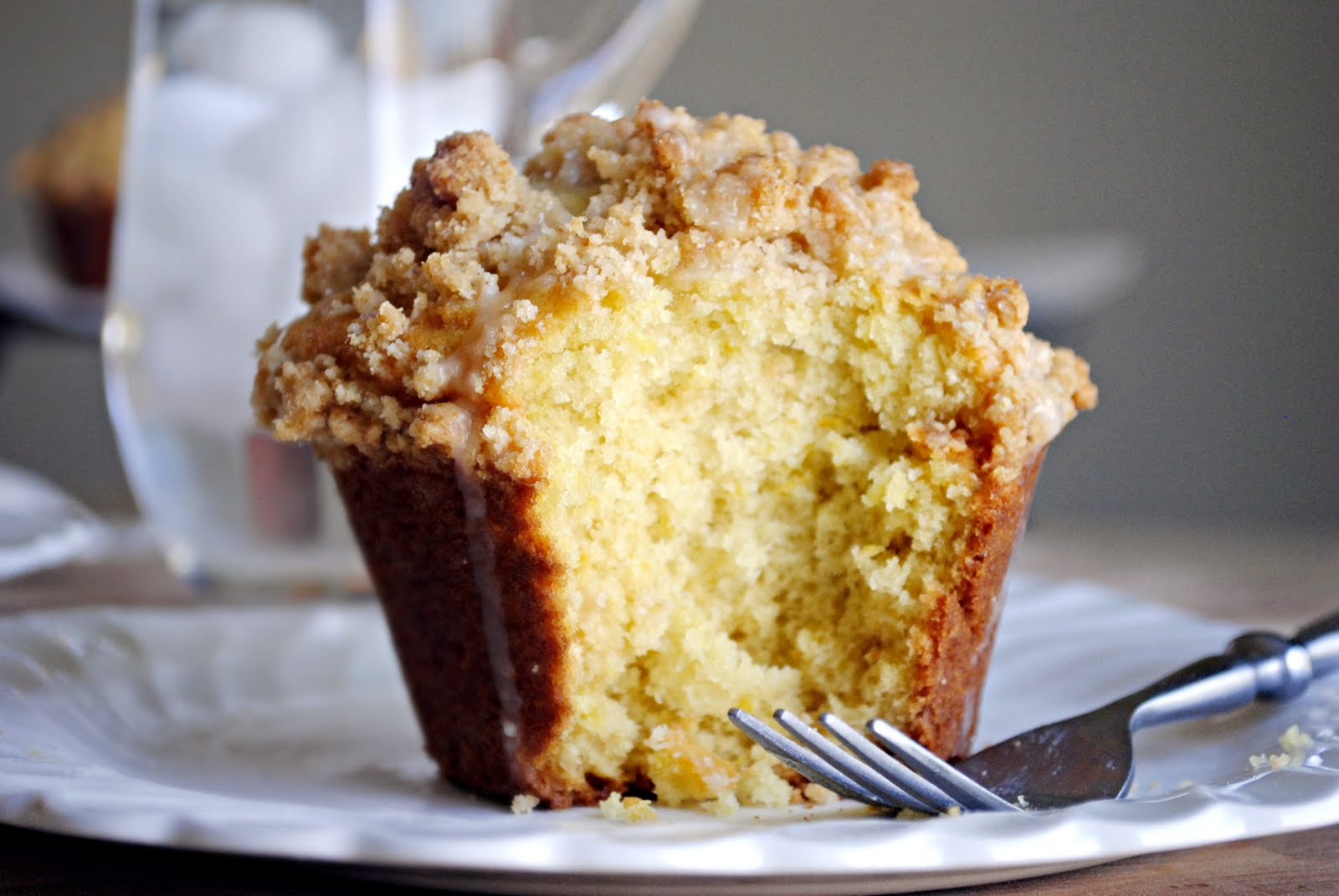 Simply Scratch Jumbo Lemon Coffee Cake Muffins - Simply Scratch