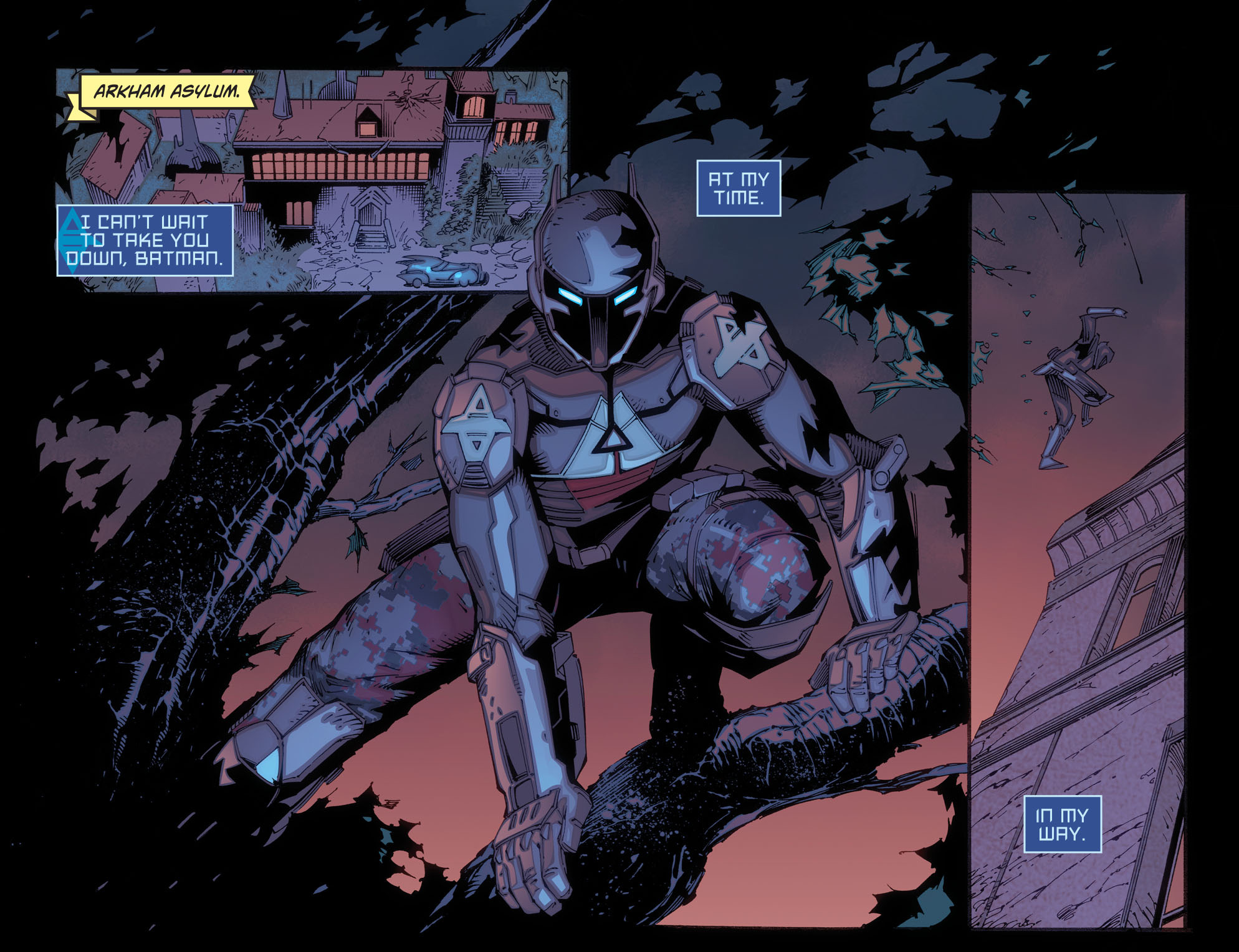 Batman: Arkham Knight [I] Issue #3 #5 - English 3