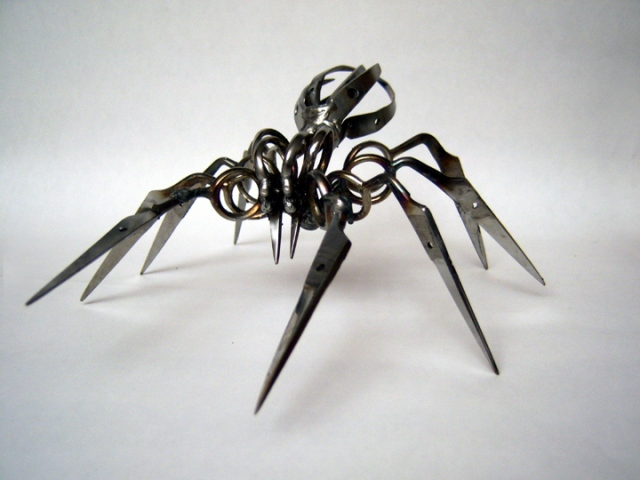 Amazing Scissor Spiders