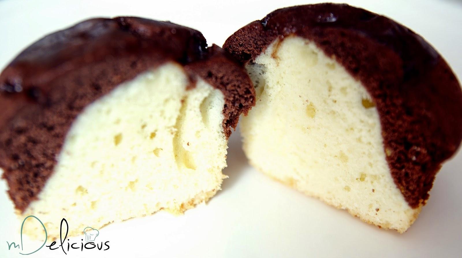 łaciate muffinki, babeczki łaciate,dwukolorowe muffinki, dwukolorowe babeczki, muffiny krówka