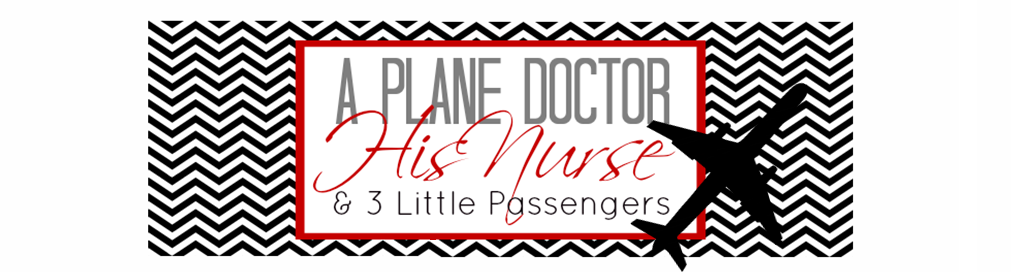 A Plane Doctor, His Nurse and 3 Little Passengers
