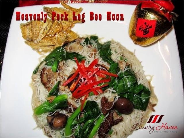 cny narcissus pork leg bee hoon recipes
