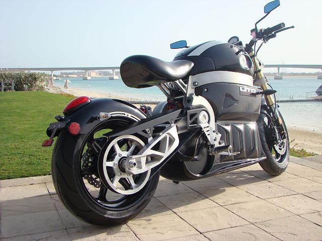 Lito Green Motion - Sora electric motorbike rear side