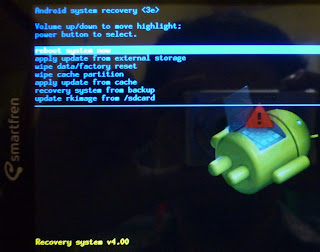 tutorial bootloop softbrick Smartfren Andro Tab