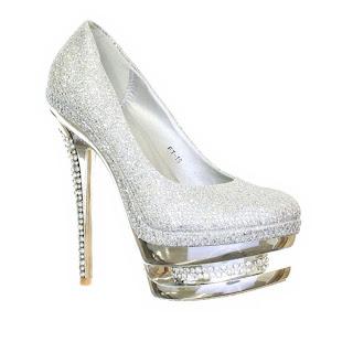 Sapato feminino prata
