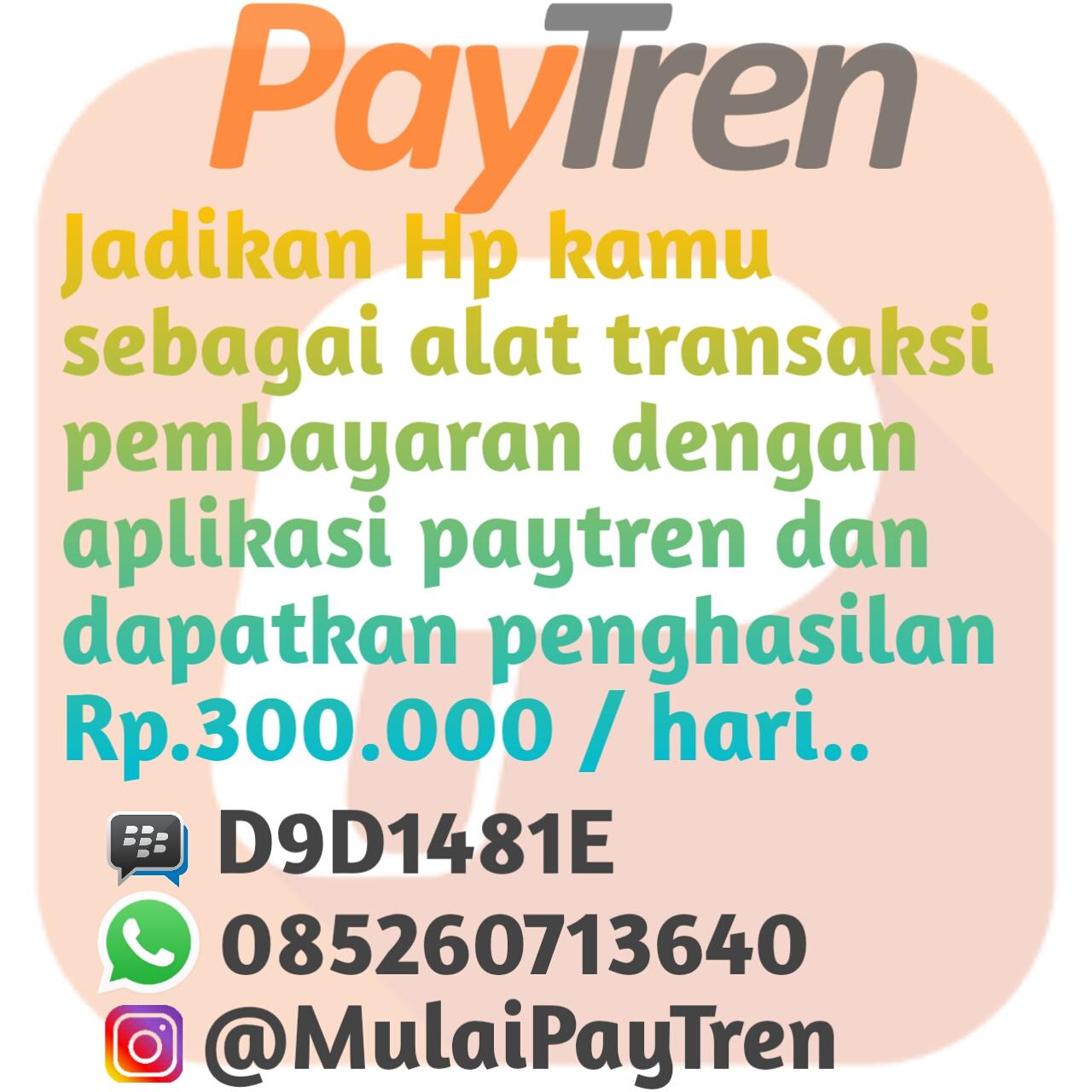 Jadi Member PayTren