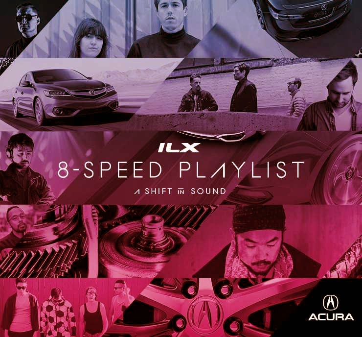 Plastic Plates, Bit Funk & Amtrac Presents New Tracks In Acura ILX 8-Speed Playlist