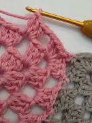 How to add a granny squares together