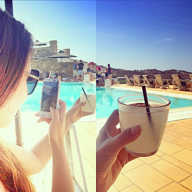 Instagram @lelazivanovic. Summer memories and homemade lemonade.