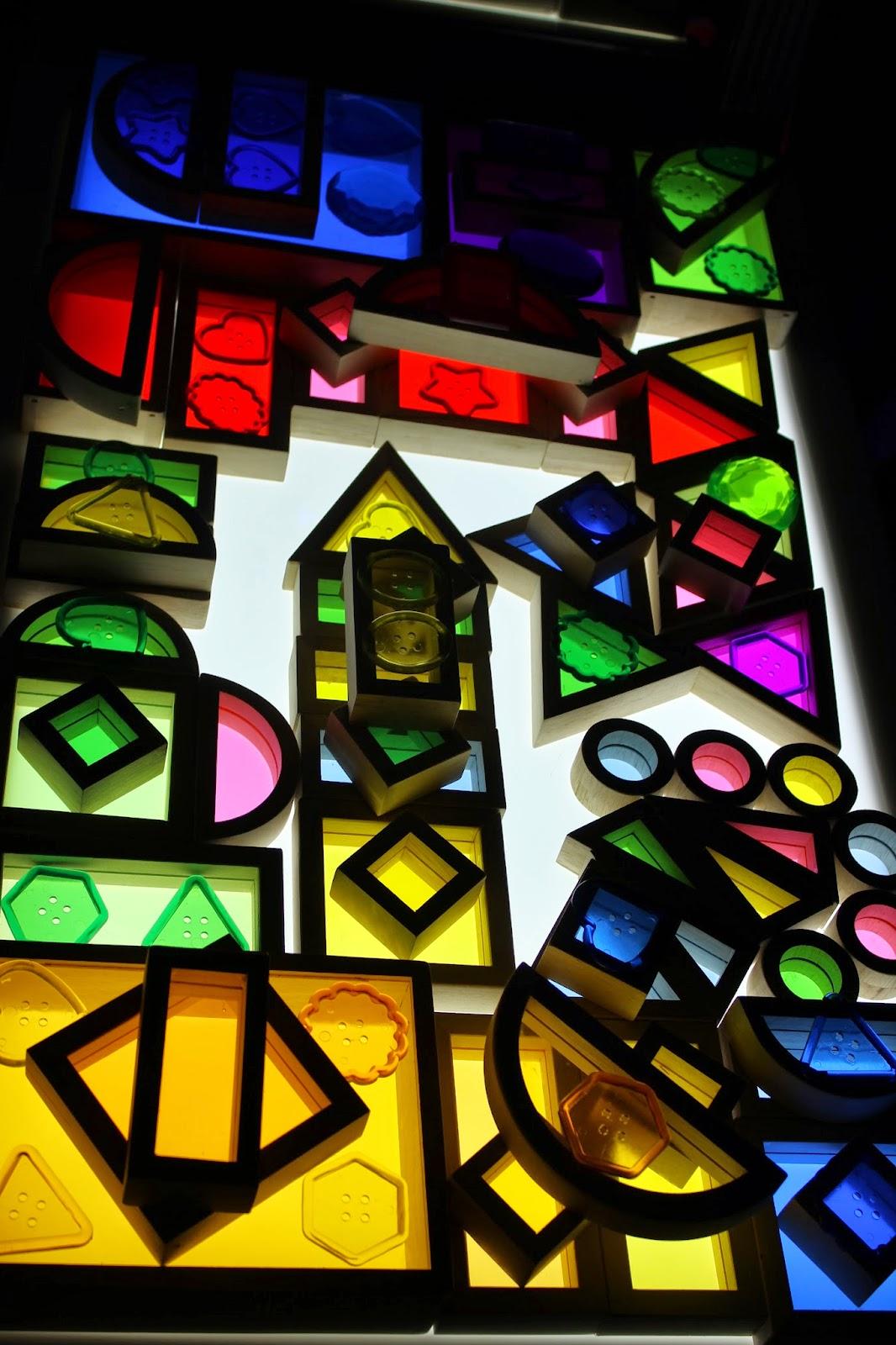 rainbow window blocks