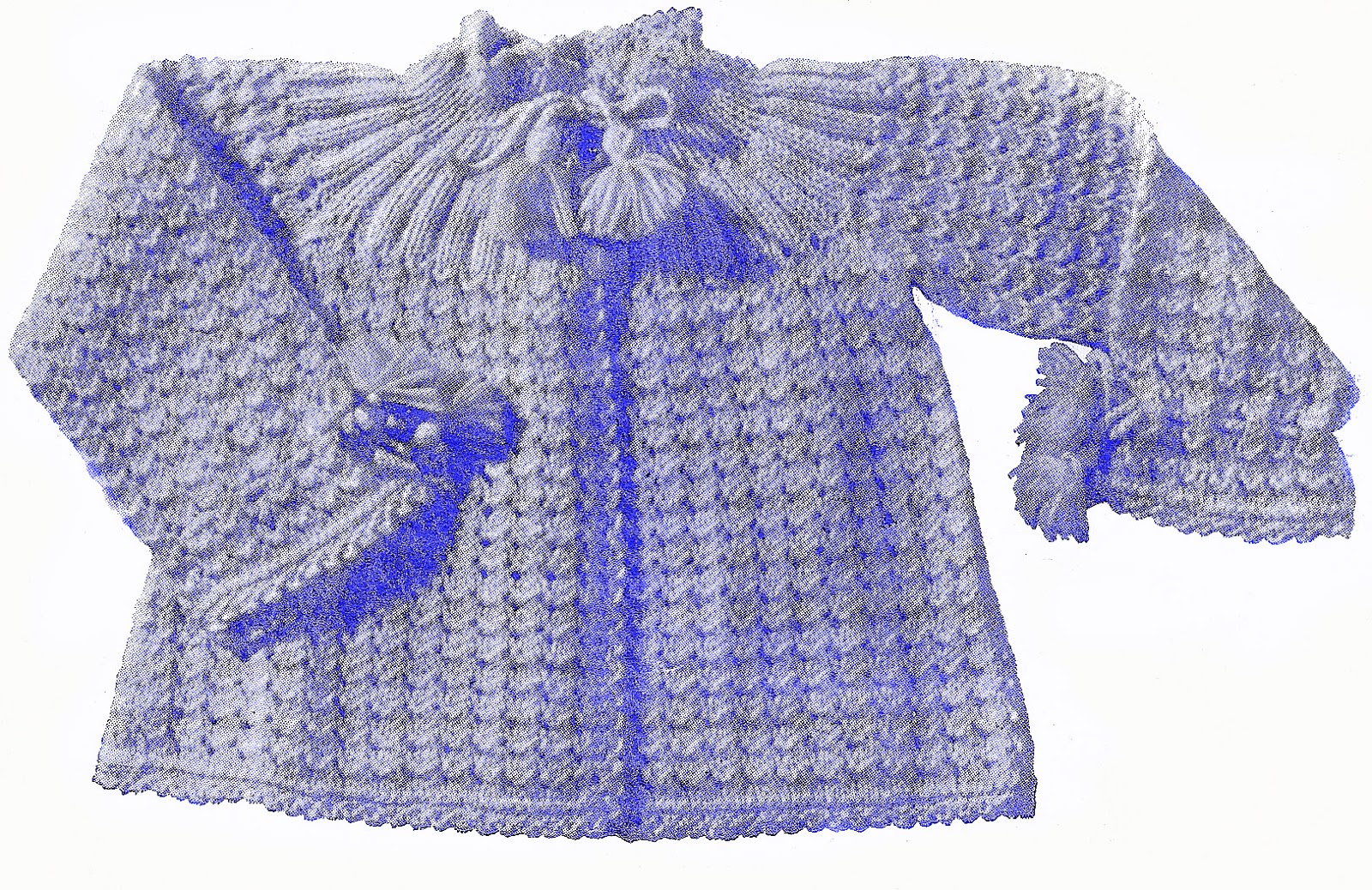 Free Baby Sweater Knitting Patterns : Sentimental Baby: Vintage Knit Patterns for Babies