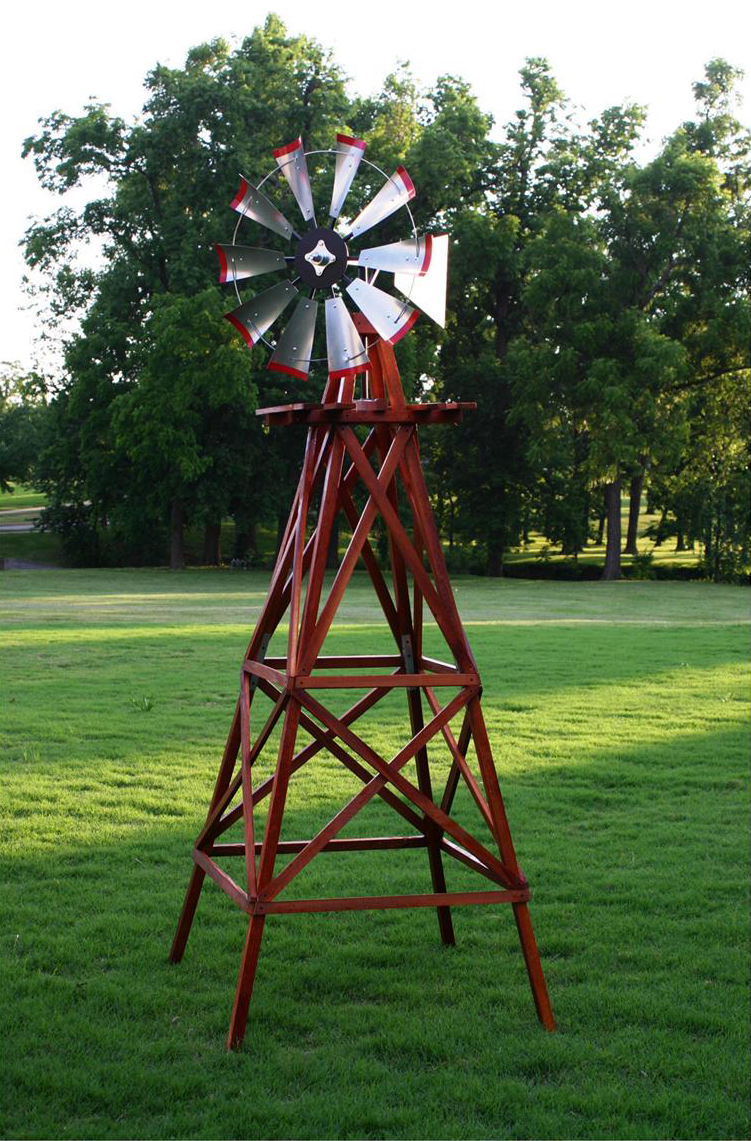 What are some unique decorative windmills?