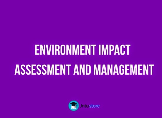 environmental mipact and assessment management