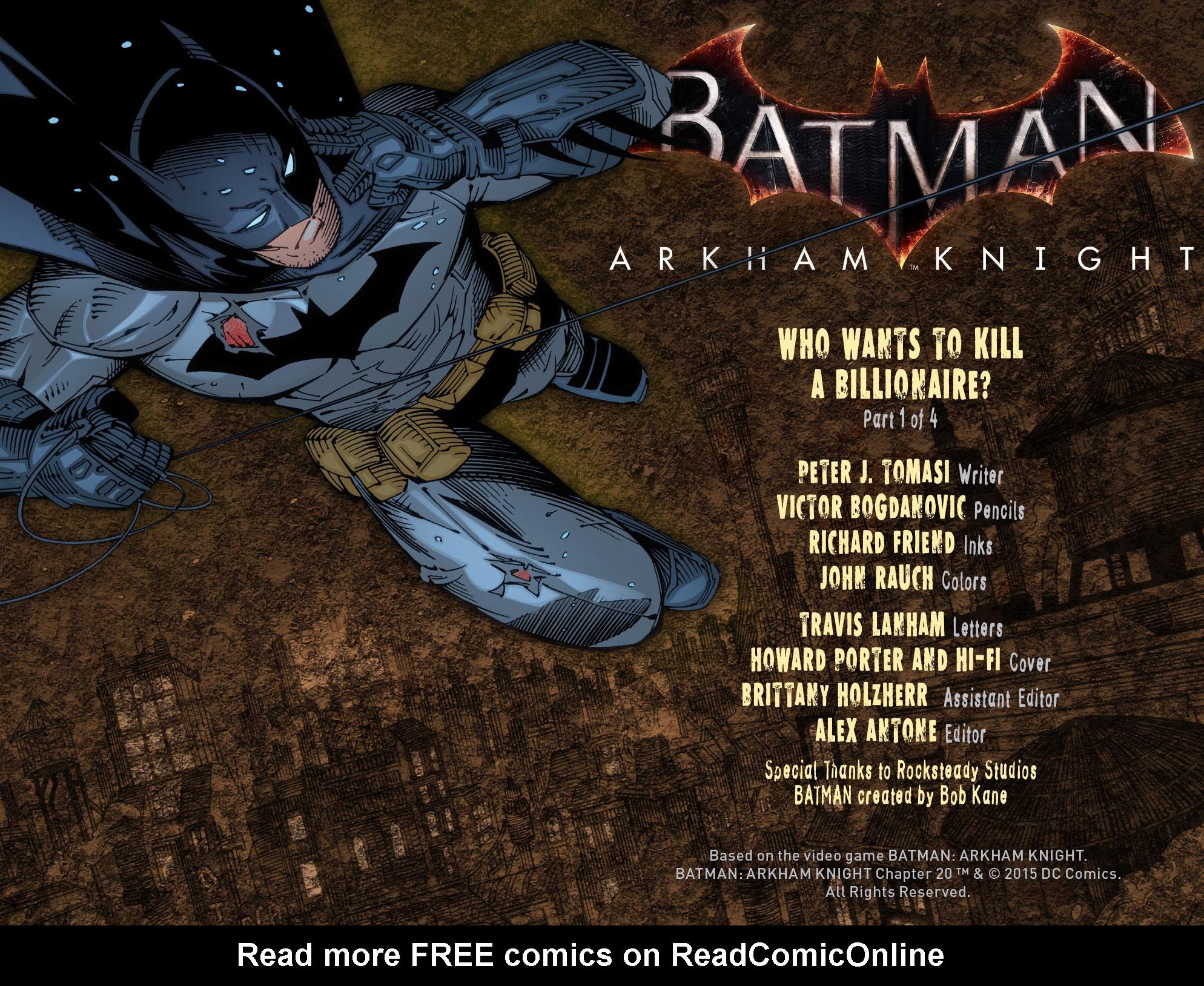 Batman: Arkham Knight [I] Issue #20 #22 - English 2
