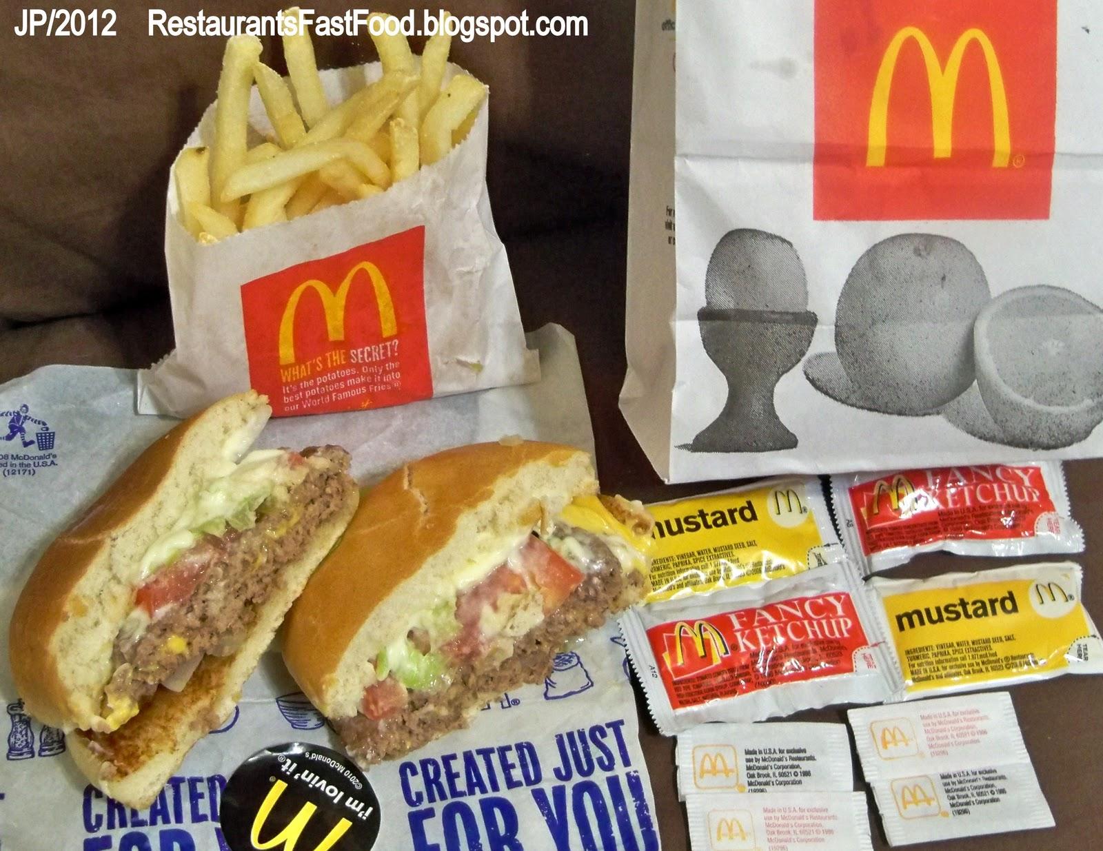 Mcdonald S Hamburger Restaurant Americus Georgia Fast Food Burgers Ga Lamar Street