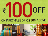 Pepperfry :Get flat Rs. 100 off on order of Rs. 250 or Above & get 35% off Through Mobikwik:buytoearn