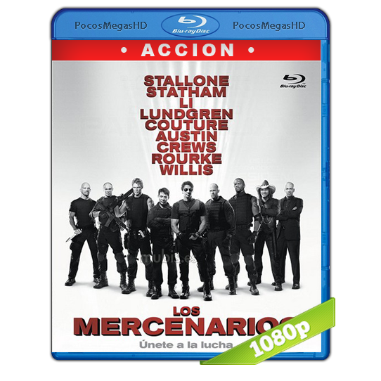 Los Mercenarios (2010) Full HD BRRip 1080p Audio Dual Latino/Ingles 5.1