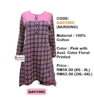 T-Shirt-Muslimah-Qaseh-QA0108C