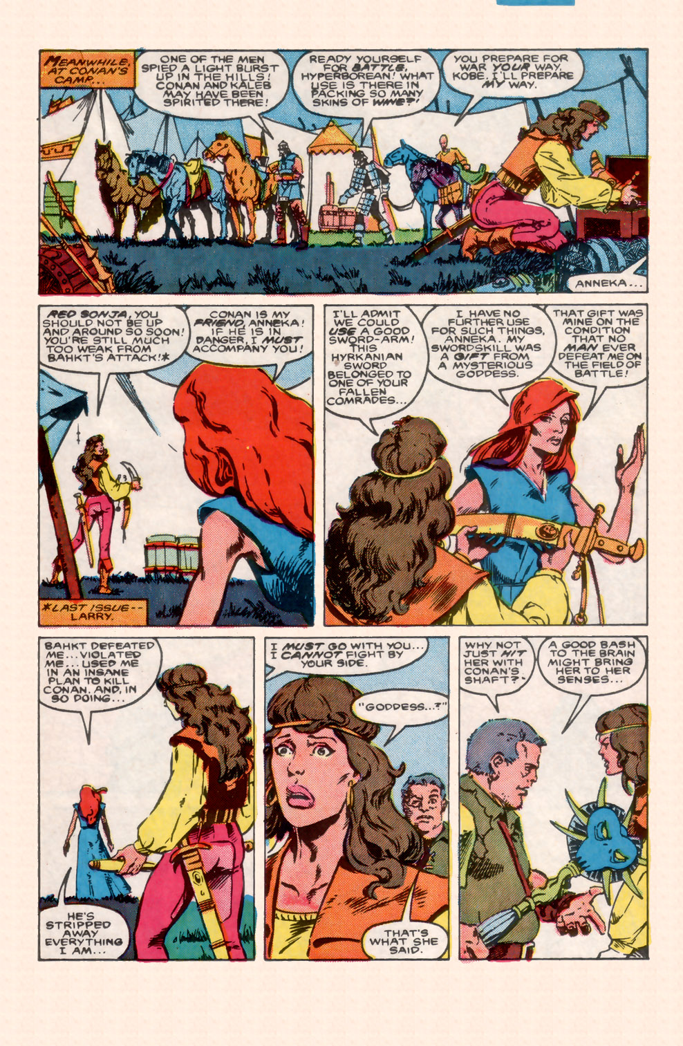 Conan the Barbarian (1970) Issue #199 #211 - English 12