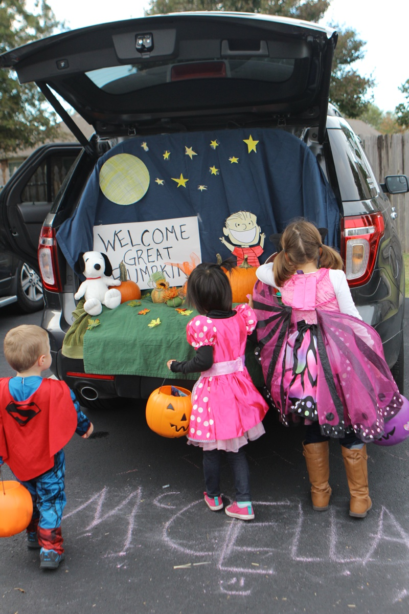 Trunk or Treat Idea Charlie Browns Great Pumpkin