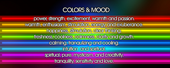 How Colors Affect Your Mood Youtube  Color Me Creative A Visual Trip  Through Color Psychology