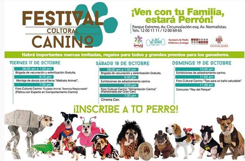 festival canino guadalajara