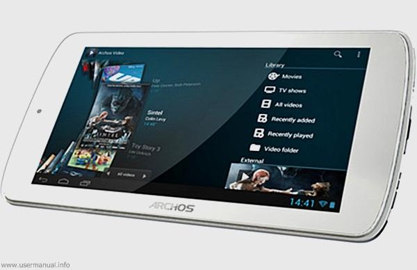 archos 70 titanium tablet user manual guide usermanual info usermanual info Archos 7 Home Tablet Archos 7 Home Tablet USB Host