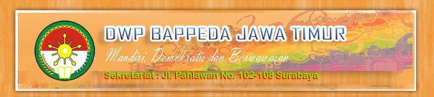 DWP BAPPEDA PROVINSI JAWA TIMUR