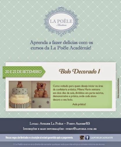 Bolo Decorado I -20 e 21/09