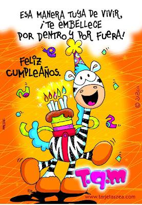 Frases Para Cumpleaños: Esa Manera Tuya De Vivir