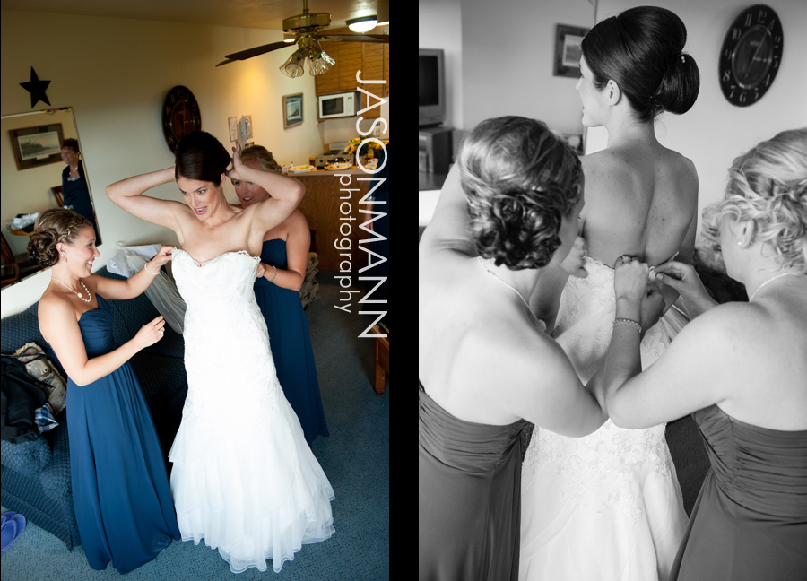 Jason Mann Photography - Door County Wedding Dress