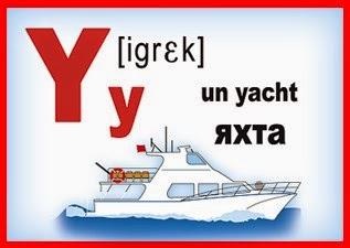 Карточка - французская буква Y