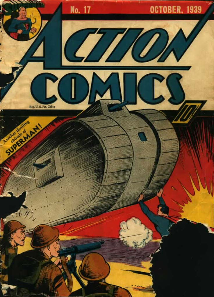 Action Comics (1938) 17 Page 1