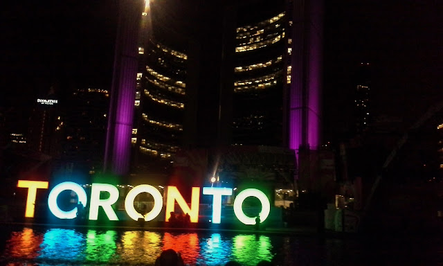 Happening Weekend: Toronto Nathan Phillips Square Panmania, Pan Am, Ontario, Canada, The Purple Scarf, Melanie.Ps