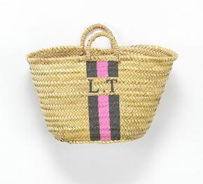 V. I. BUY: Monogram basket £120 Rae Feather