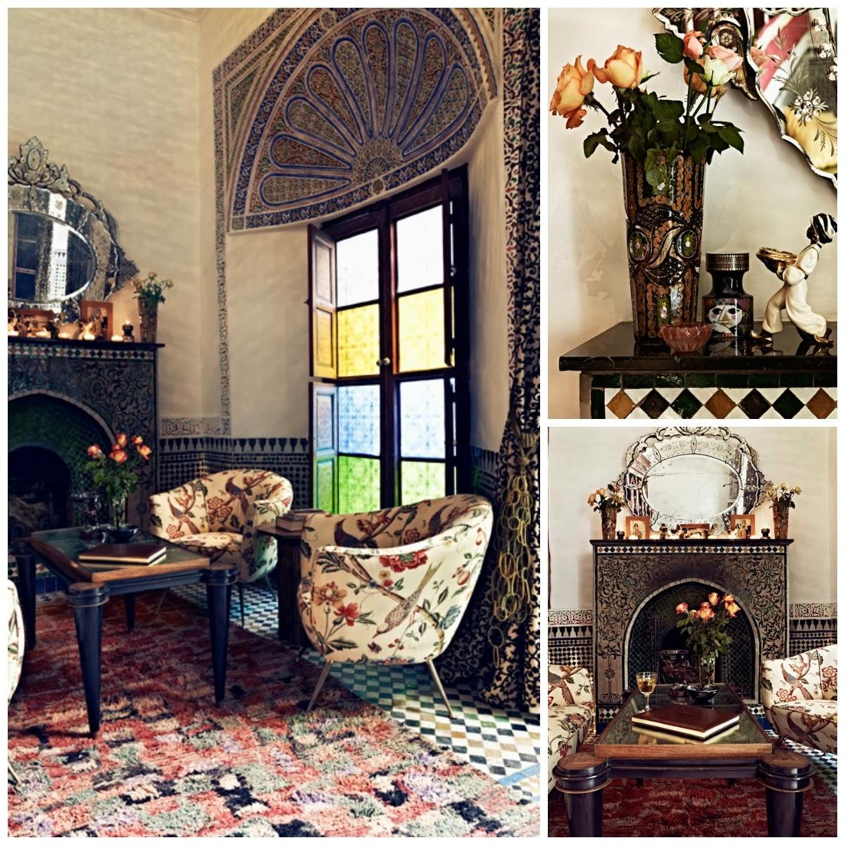 El tiempo entre costuras, Marruecos, La Musa Decoración, Salón, Living room