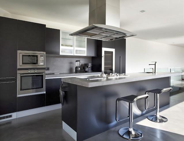 Fotos de cocinas modernas colores en casa - Cocinas espectaculares modernas ...