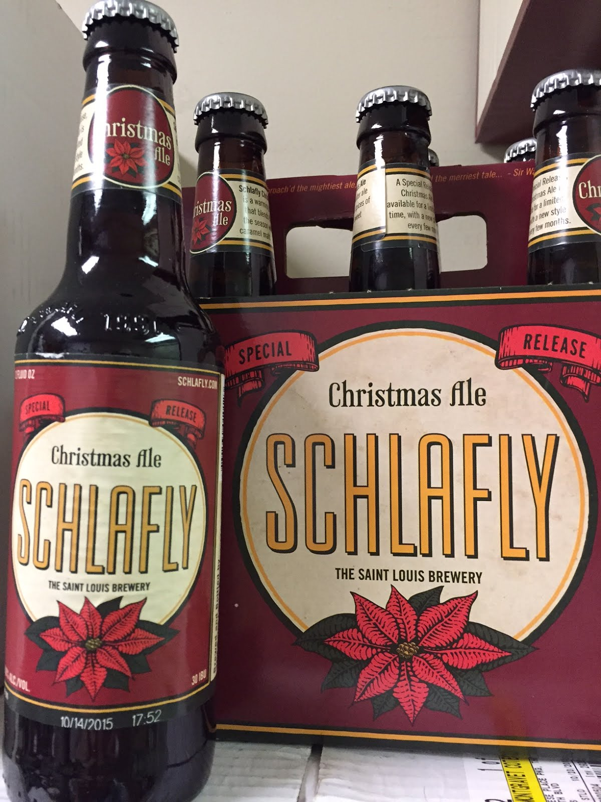 The Wine and Cheese Place: Schlafly Christmas Ale 2015