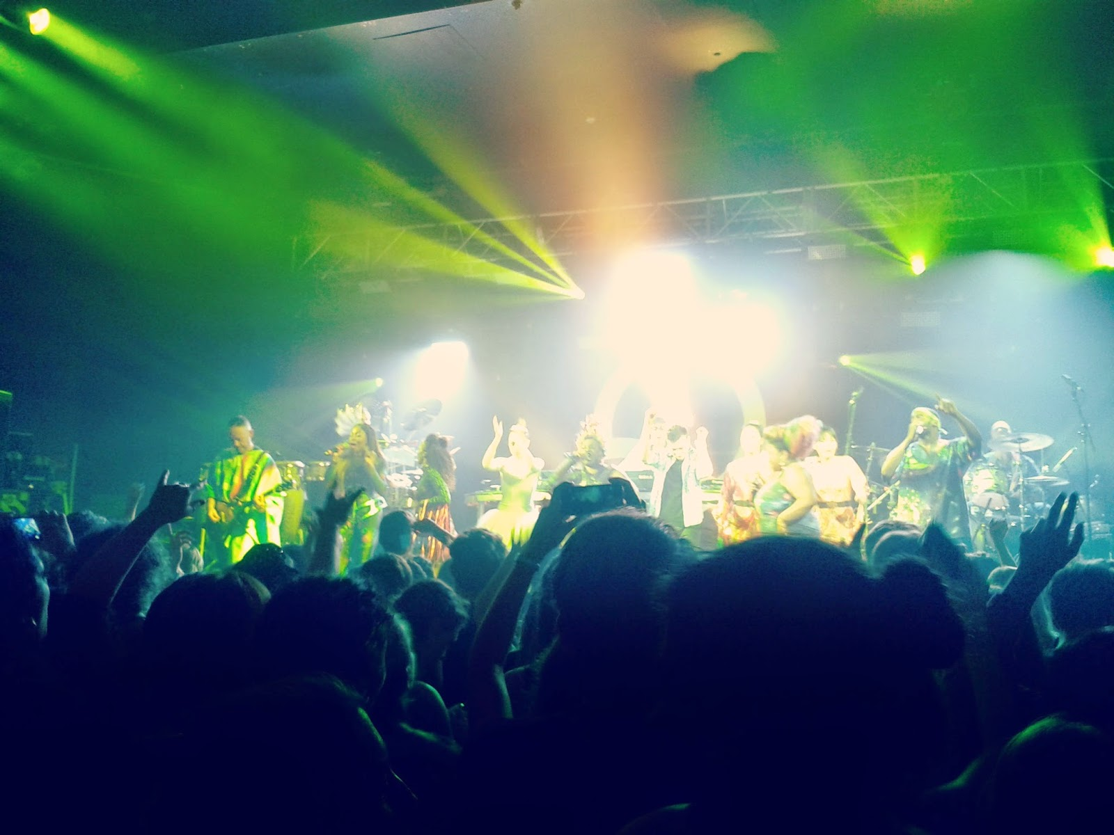 Project 365 #49 day 335 - Basement Jaxx 02 Academy Bristol // 76sunflowers