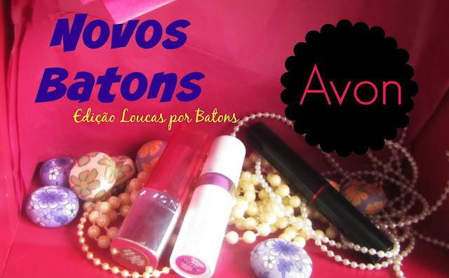 Loucas por Batons, produtos da Avon, Batons malva, batons nudes.