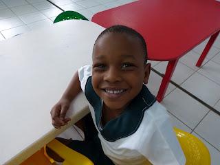 a happy preschooler