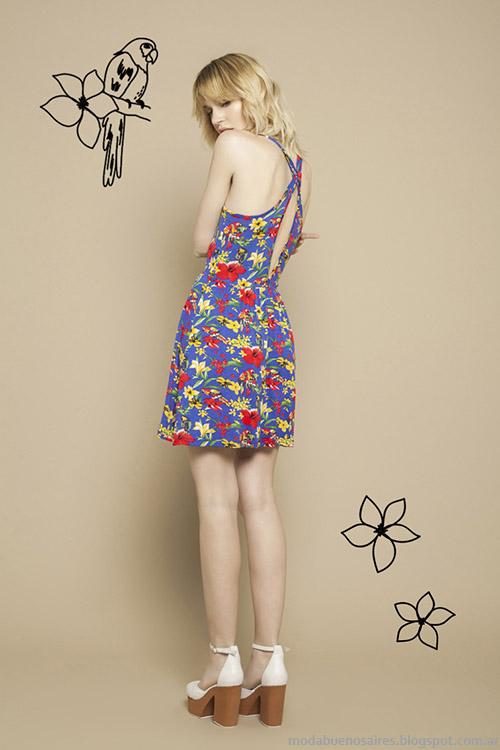 Wanama vestidos de verano cortos 2015.