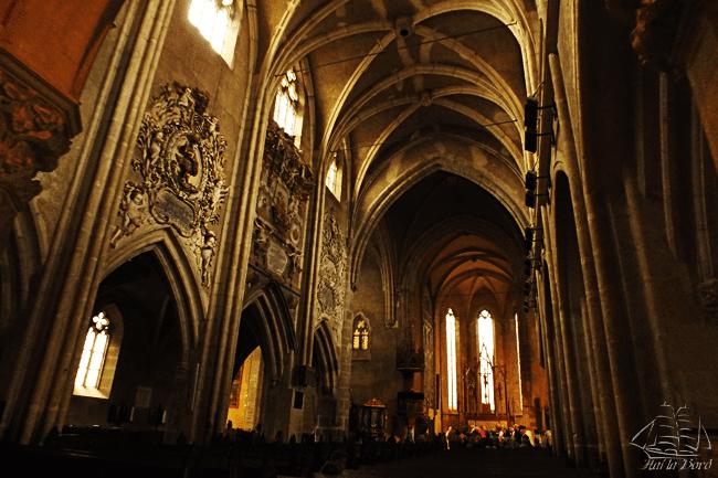 interior biserica evanghelica sibiu